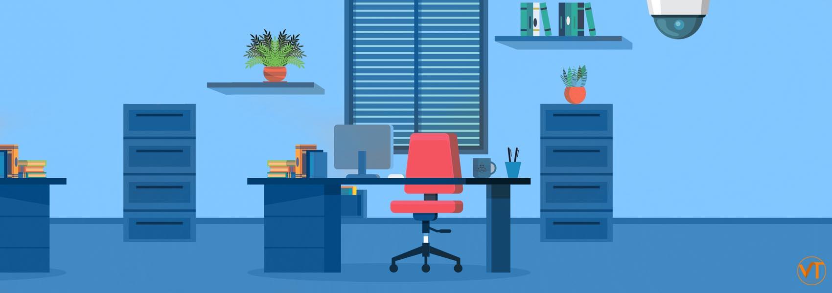 Монтаж видеонаблюдения в офис